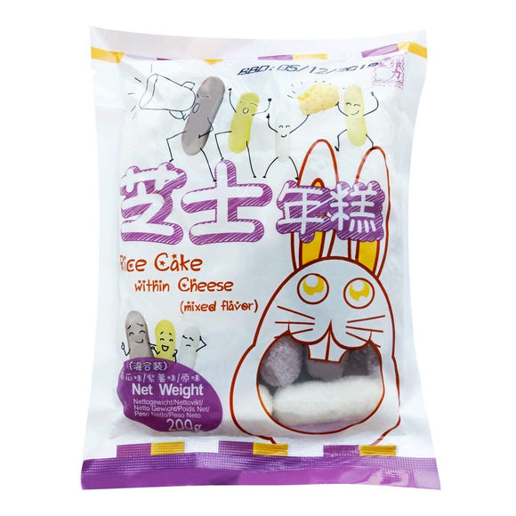 冷藏張力生芝士年糕混合味 Frozen Rice Cake with Cheese Mix Flavour 200g