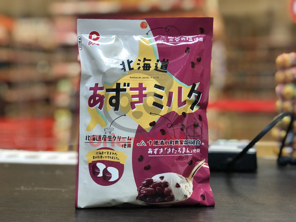 北海道红豆牛奶糖 Pine Hokkado Red Bean Milk Candy 80g