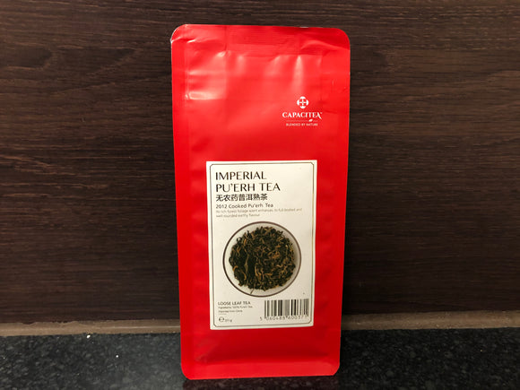 CapaciTea 无农药普洱熟茶 Capacitea Brand Cooked Pu-Erh Tea 50g