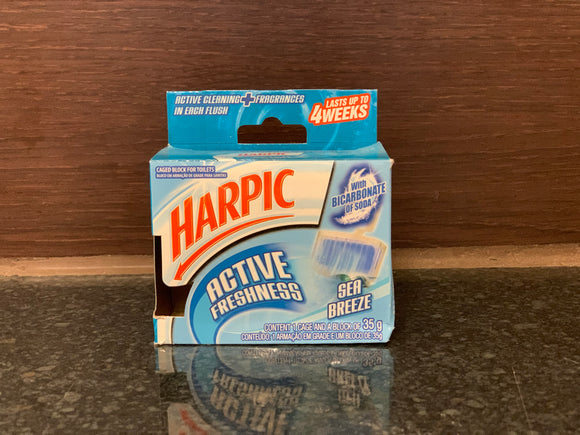 Harpic 厕所清新皀 Active Freshness Sea Breeze 35g