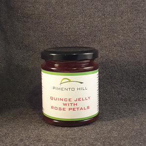 Quince Jelly with Rose Petals 227g