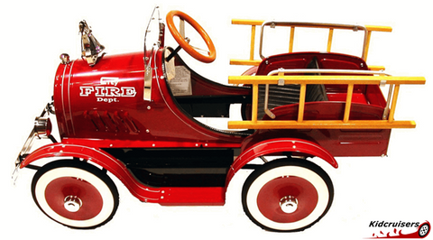 Classic Fire Engine | Pedal Car