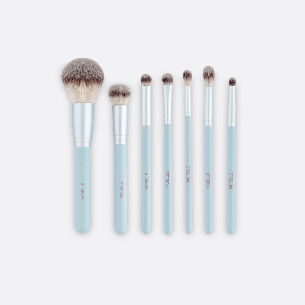Make up brush set 7/1 blue