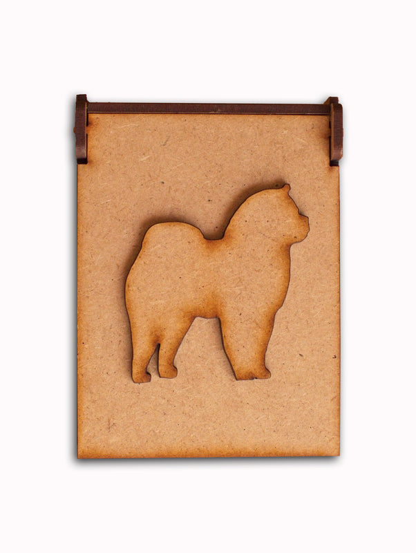 Chow Chow Giftbox - Mounted