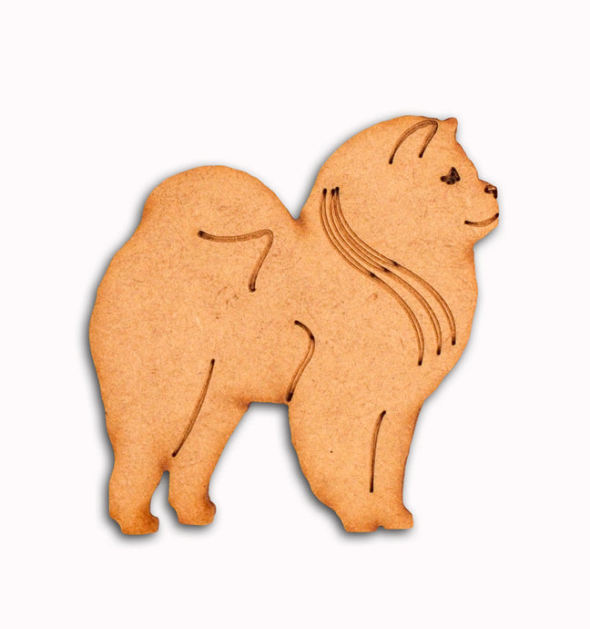 Rough Chow Chow Fridge Magnet