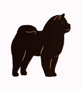 Smooth Chow Chow Fridge Magnet