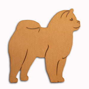 Smooth Chow Chow Wall Mount