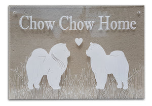 Wall Plaque - Chow Chow Home