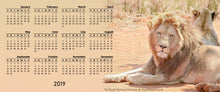 Magnetic Calendar 2019 - Walk on the Wild Side Collection