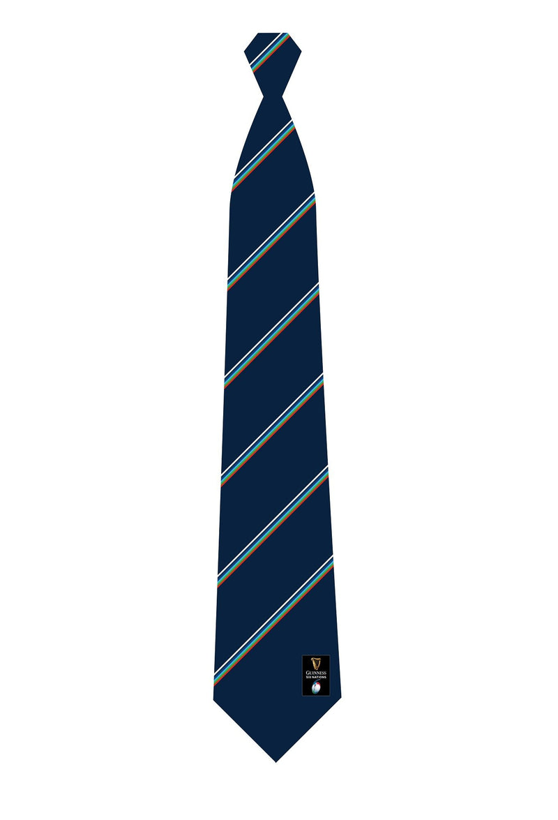 Guinness Six Nations Rugby Stripe Tie