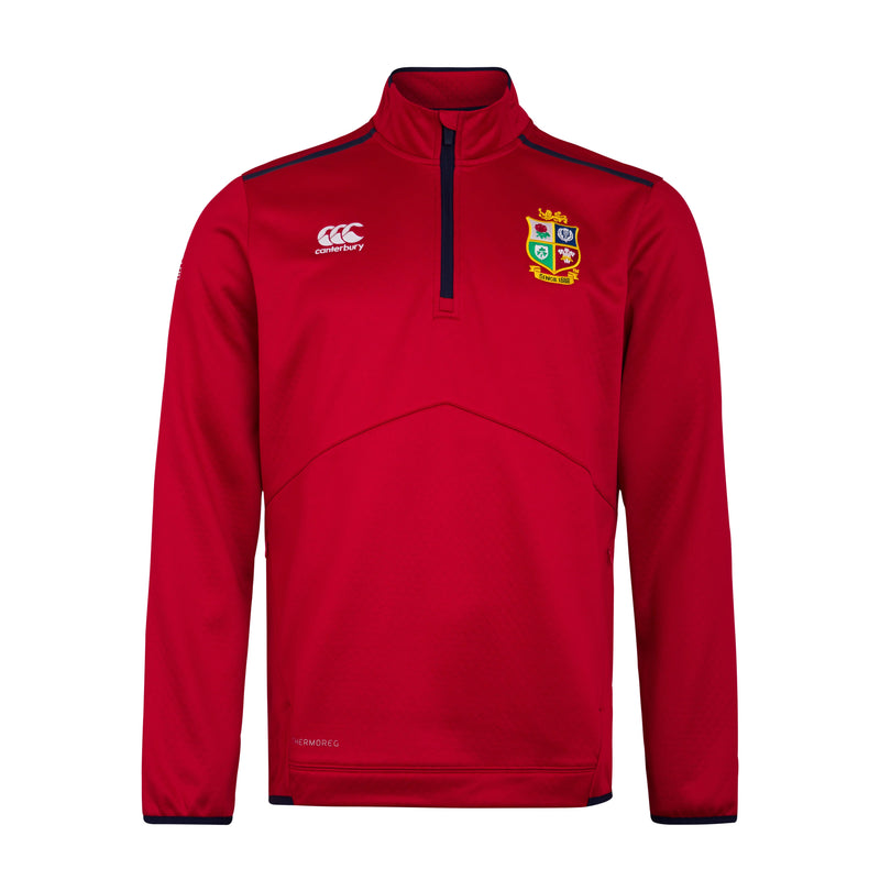 British & Irish Lions Qtr Zip Fleece
