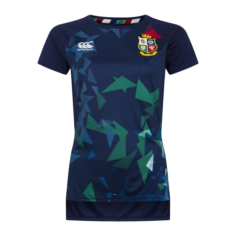 British & Irish Lions Womens Superlight Graphic T-Shirt - Absolute Rugby