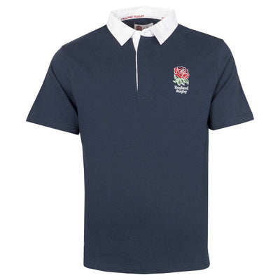 England Rugby 19/20 S/S Rugby Shirt - Navy - Six Nations Rugby