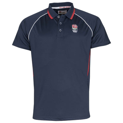England Rugby 2020 Polyester Polo - Navy - Six Nations Rugby