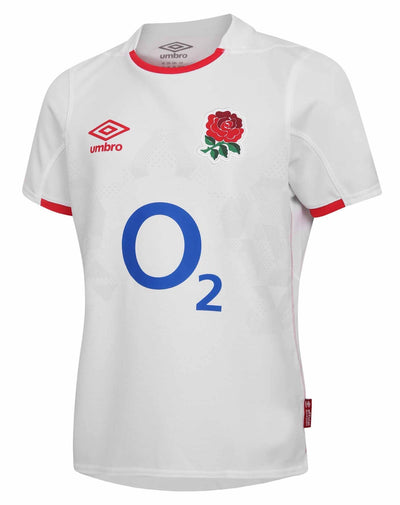 England Rugby Home Replica Jersey S/S Jnr I 20/21 - Absolute Rugby