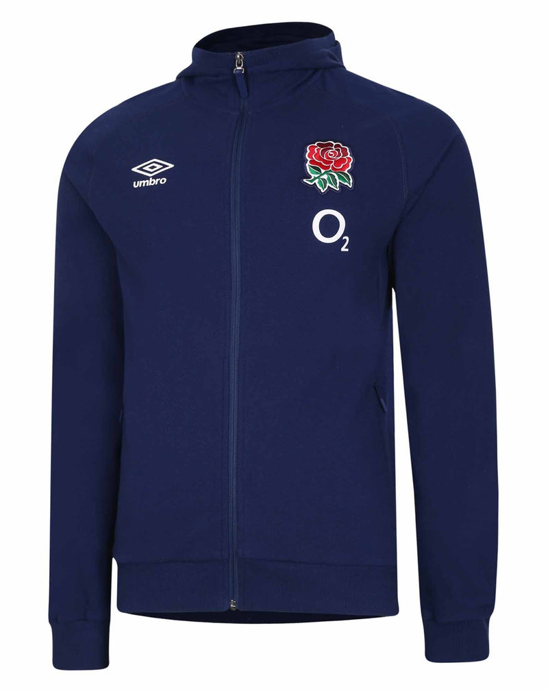 England Rugby Hooded TWill Jacket I 20/21 - Absolute Rugby