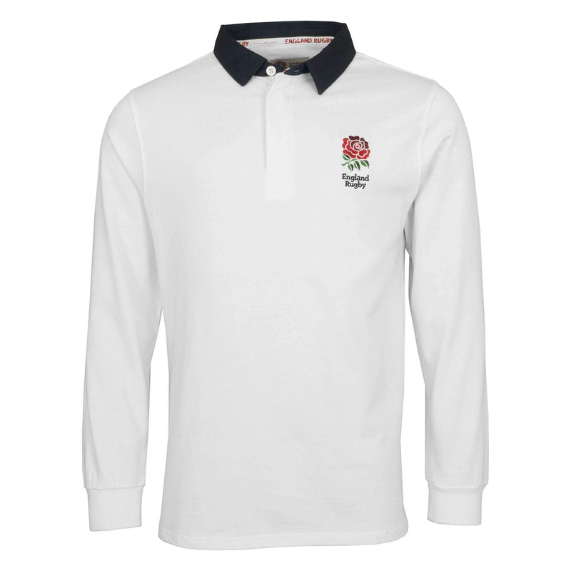 England Rugby Kids L/S Rugby Jersey - Six Nations Rugby