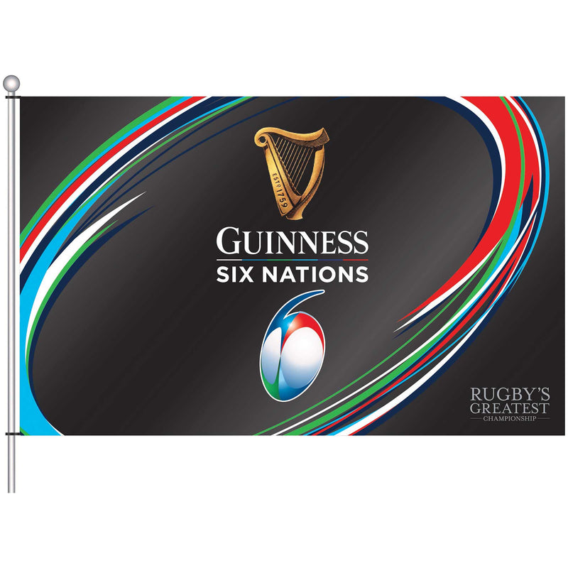 Guinness Six Nations Flag