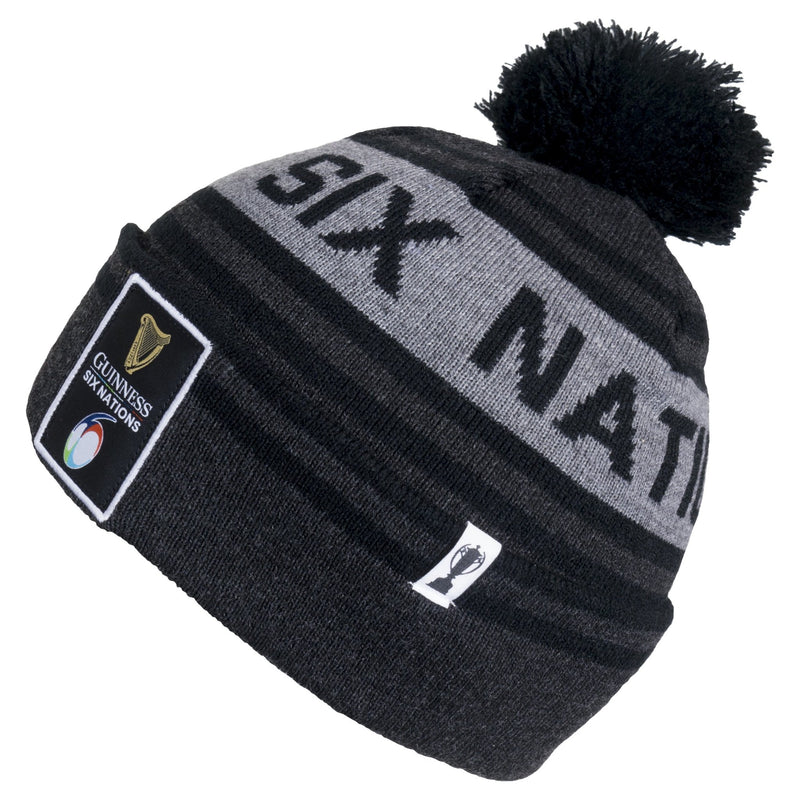 Guinness Six Nations Bobble Beanie - Absolute Rugby