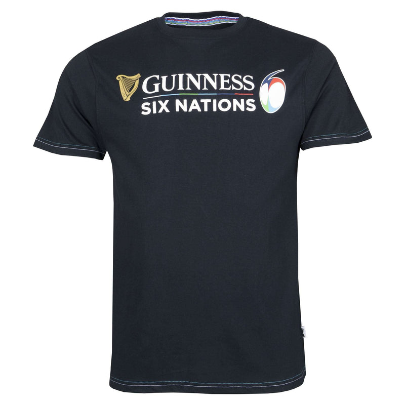 Guinness Six Nations Large Logo Tee 19/20 - Absolute Rugby