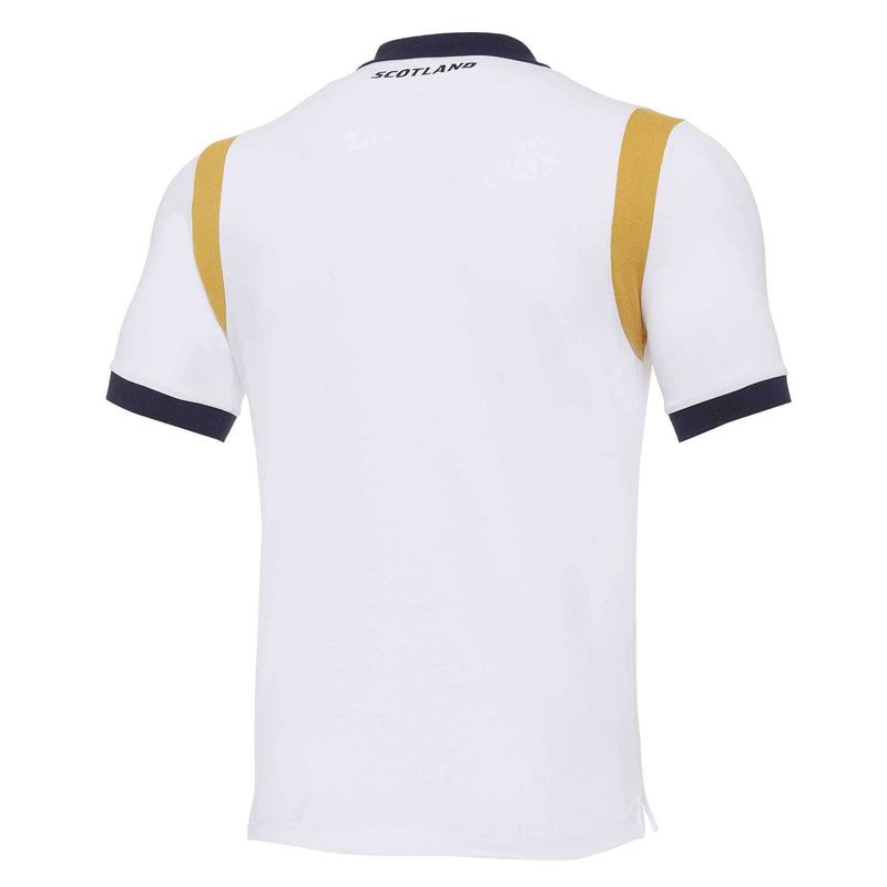Scotland Rugby Travel Polo - White | 2020/21 - Absolute Rugby