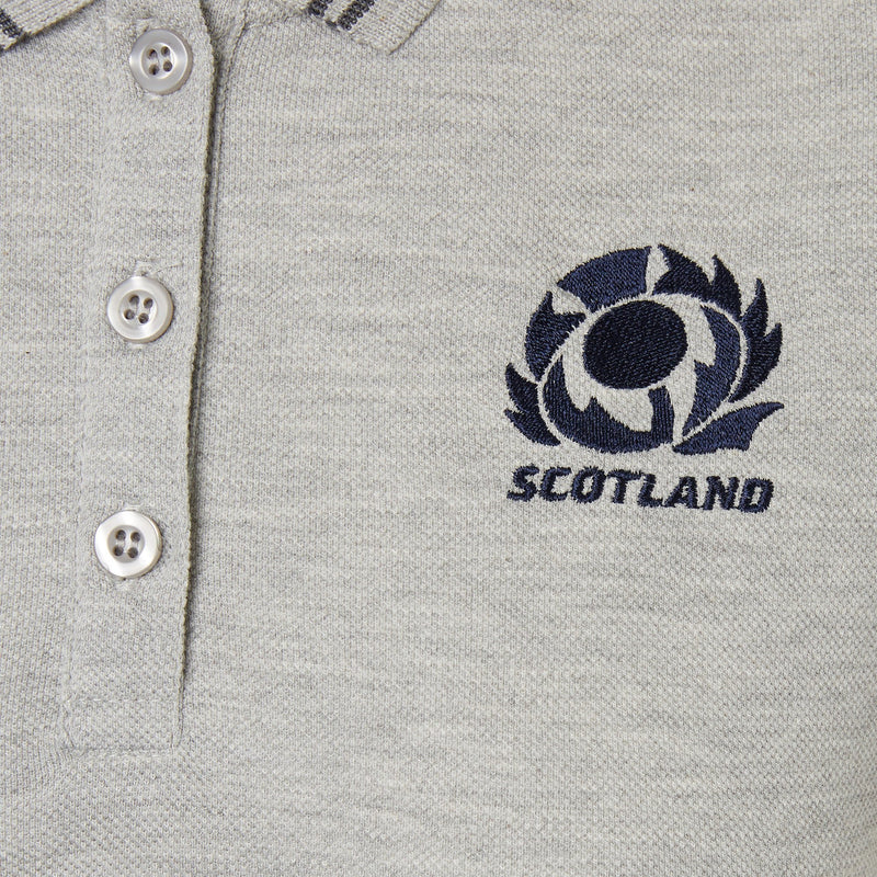 Scotland Rugby Womens Polycotton Polo - 20/21 - Absolute Rugby