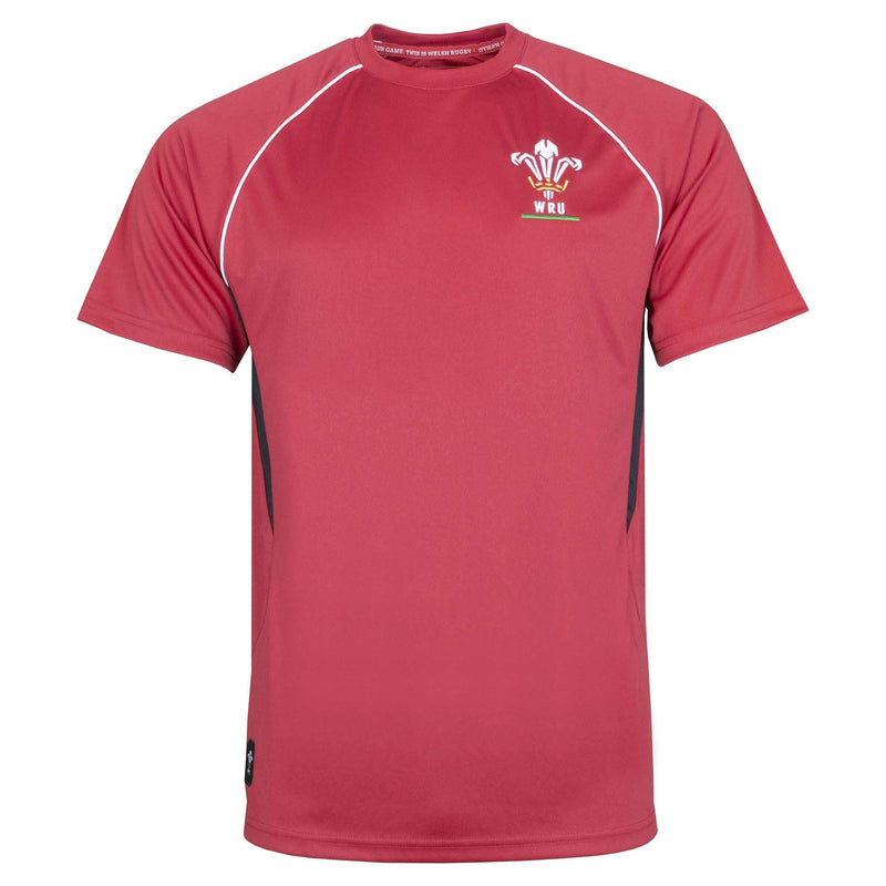 Wales Rugby 19/20 Gym Tee - Six Nations Rugby