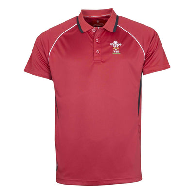 Wales Rugby 19/20 Poly Polo - Six Nations Rugby