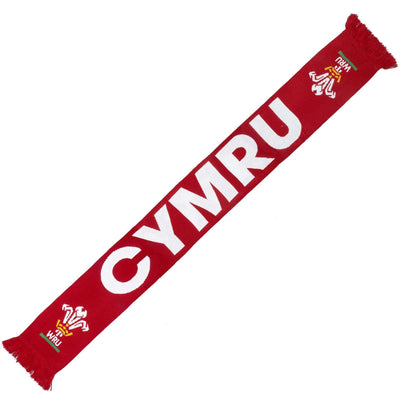 Wales Rugby 19/20 Scarf - Six Nations Rugby