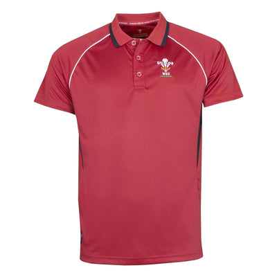 Wales Rugby Kids Panel Polo - Six Nations Rugby