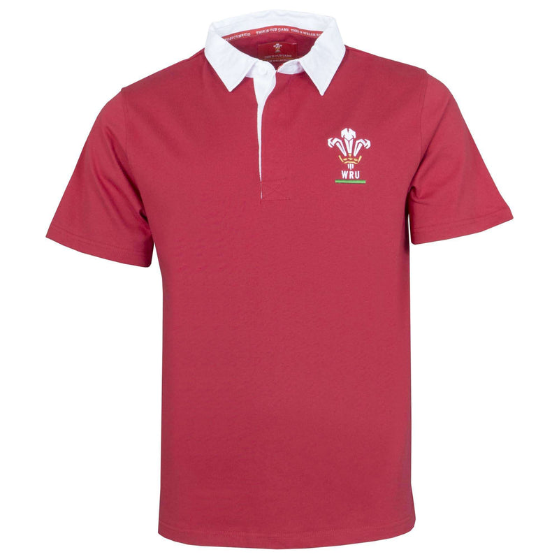 Wales Rugby Kids S/S Rugby Shirt - Six Nations Rugby