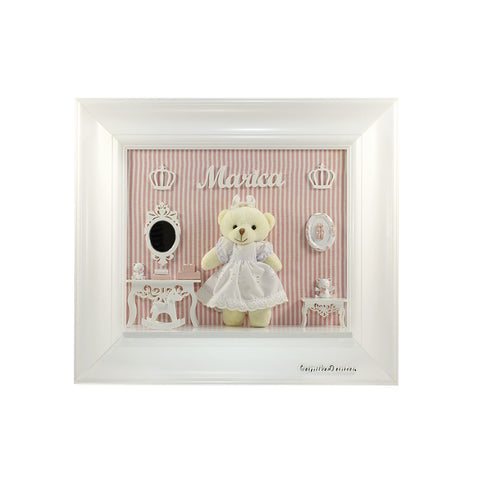Teddy bear peluche frames tailor beb customize everything for personalized baby peluche frames negle Gallery