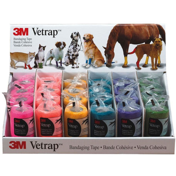 3M HEALTH CARE Vetrap 10Cm Display Pack 3589