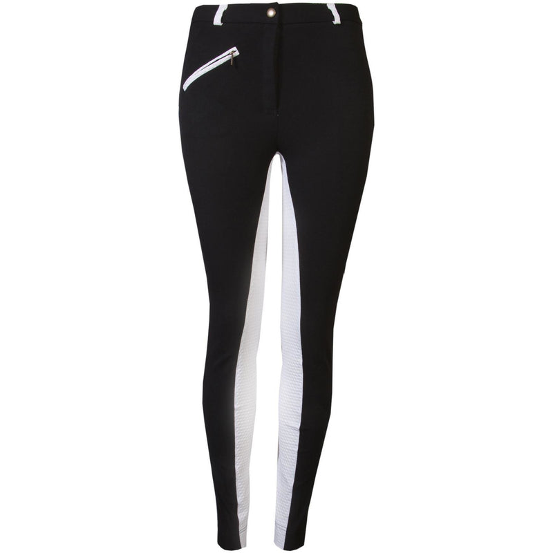 GS Equestrian Ladies Deluxe Two Tone Woven Jodhpurs