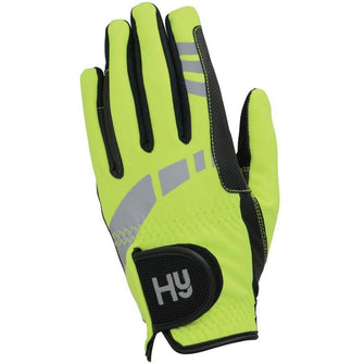 Hy5 Extreme Reflective Softshell Gloves - Reflective Yellow - Child