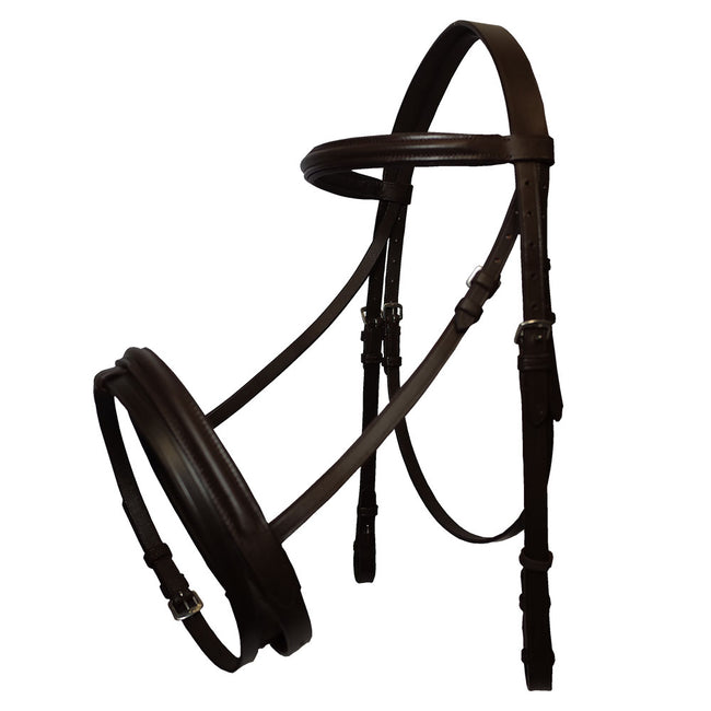 GS Equestrian Padded Flash Bridle
