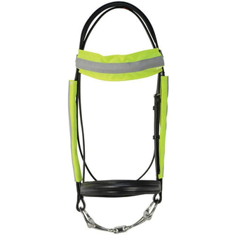 HyVIZ Reflector Bridle Bands - One Size - Yellow