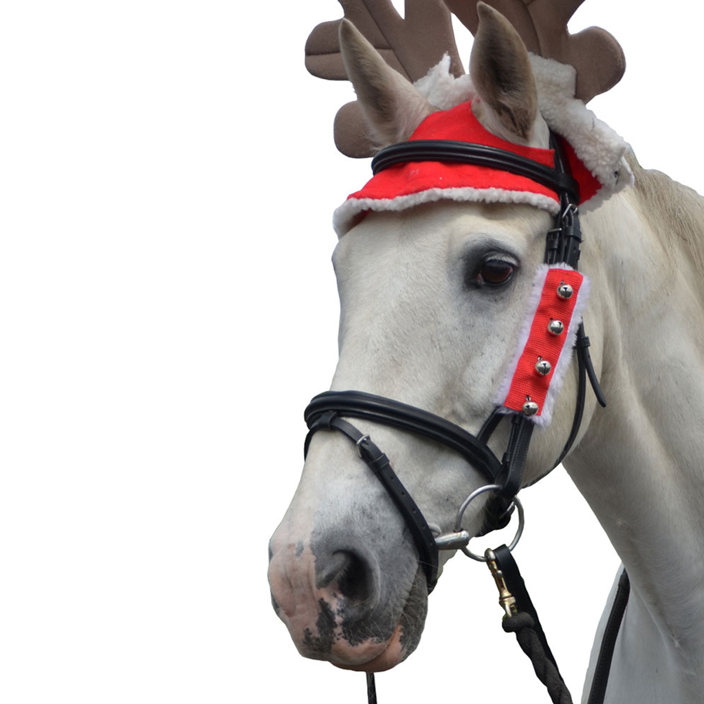 Hy Christmas Santa Bridle Set (Set of 3)