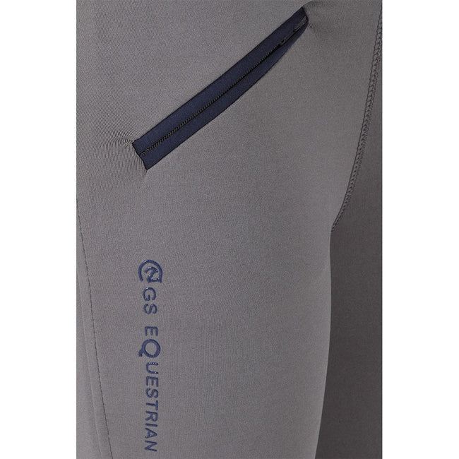 GS Equestrian Mariah Ladies Silicone Knee Contrast Riding Tights