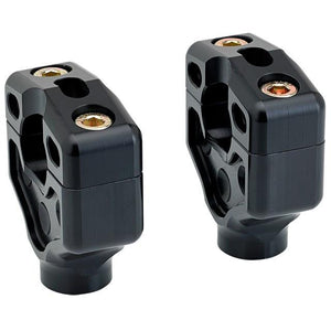 Joker Machine Dual Handlebar Clamps - Black