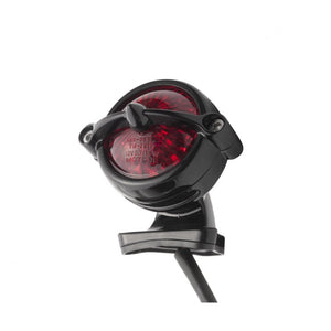 LED Tail Light - Bel Air Style + Fender Mount Kit - Black