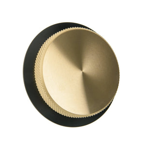 BMW Airhead Billet Gas Cap - Brass & Black