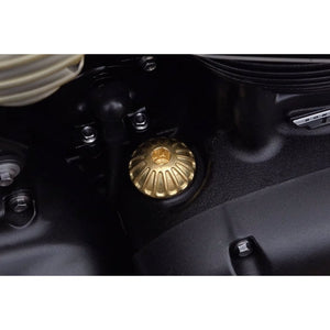 Engine Oil Filler Cap - Roswell - Solid Brass