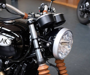 BAAK - Headlight brackets for original headlight for Triumph 2016 onwards