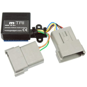 m.Tri Bonneville T100/SE signal adaptor with CAN bus technology