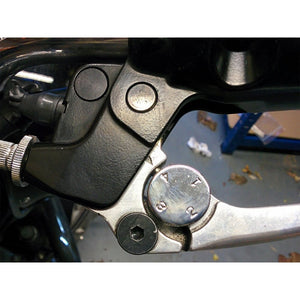 Mirror Delete Plugs for T100/T120 LC Triumphs