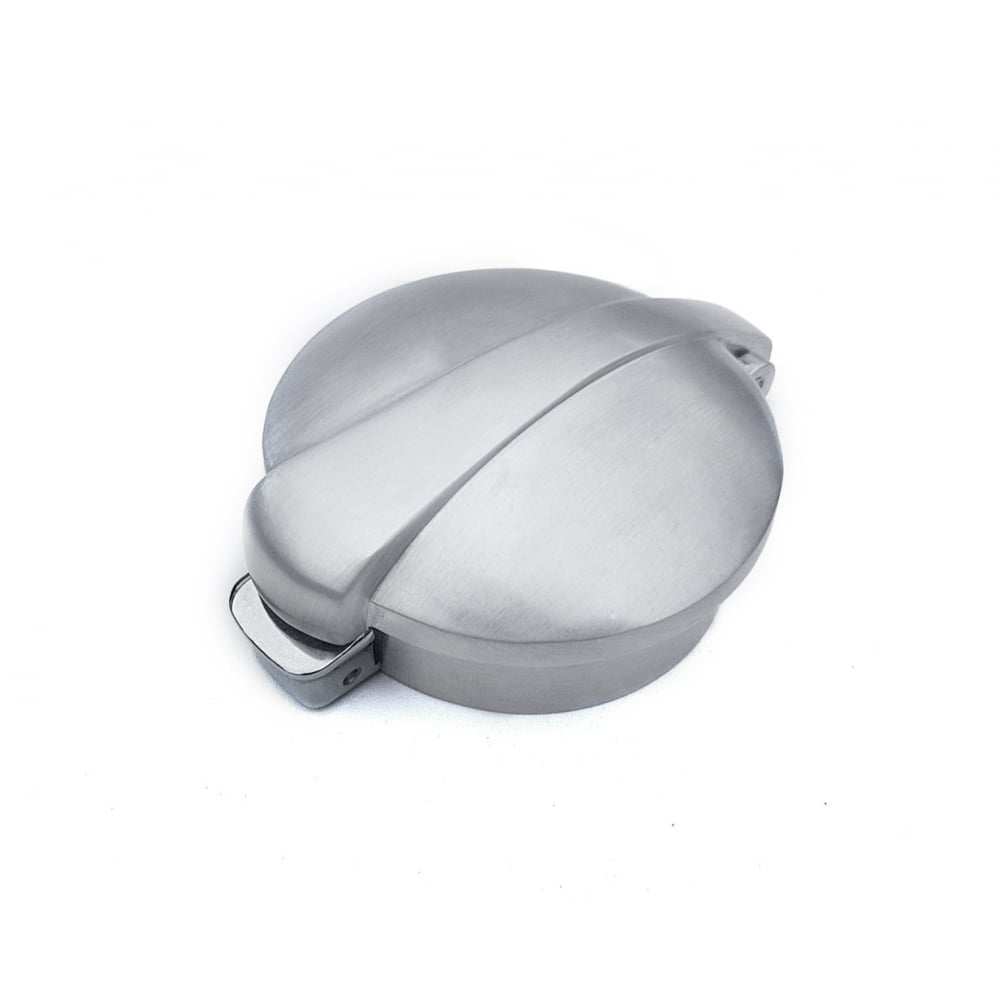 Fuel Gas Caps Vickers Motorcycle Company Lid Pad Monza Flip Up Tank Cap 25 62mm Brushed