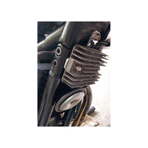 Regulator/Rectifier Frame Rail Relocation Bracket