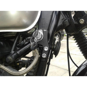 RHS Ignition Relocation Bracket - BLACK