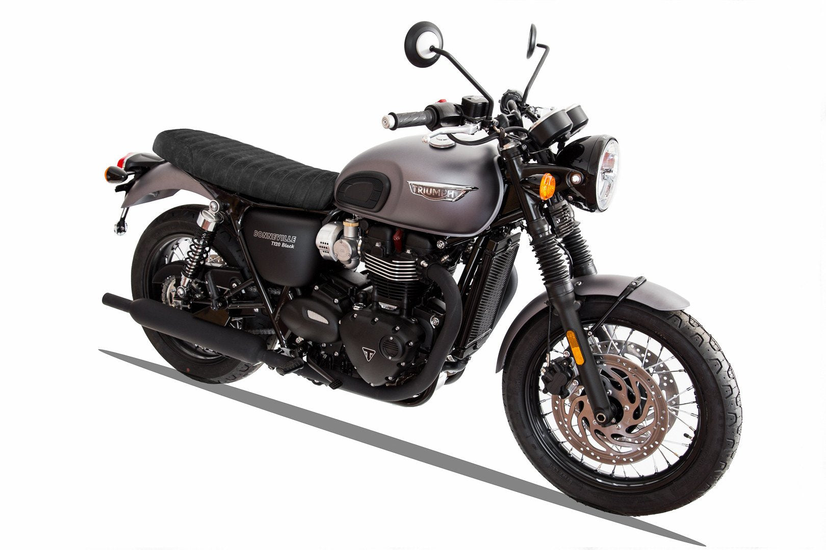 The Stryke Slim Seat For New Triumph Liquid Cooled 2016 Vickers Motorcycle Company